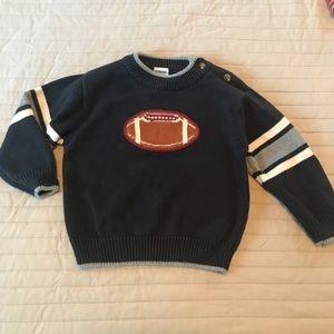 Gymboree football sweater size 18-24 months